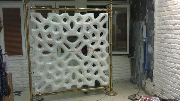 دیوارپوش سه بعدی اسفنجی