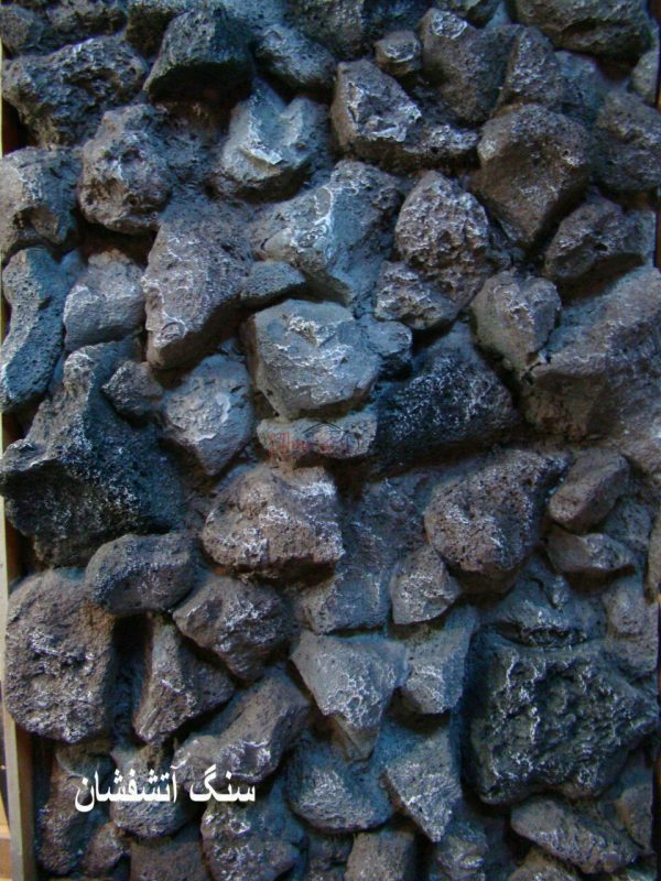 پانل دیوارپوش کامپوزیت فایبرگلاس طرح سنگ آتشفشان