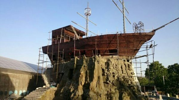 پانل دیوارپوش کامپوزیت فایبرگلاس طرح چوب (2)