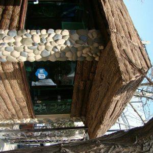 پنل دیوارپوش کامپوزیت فایبرگلاس طرح قلوه درشت (2)