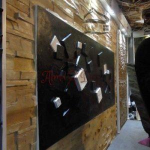 پنل دیوارپوش کامپوزیت فایبرگلاس طرح مدرن (2)
