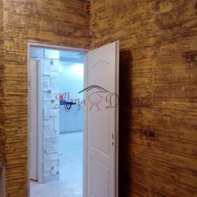 پنل دیوارپوش کامپوزیت فایبرگلاس طرح چوب (1)