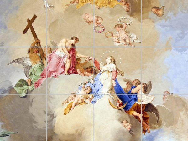 پنل آسمان مجازی طرح کلیسا