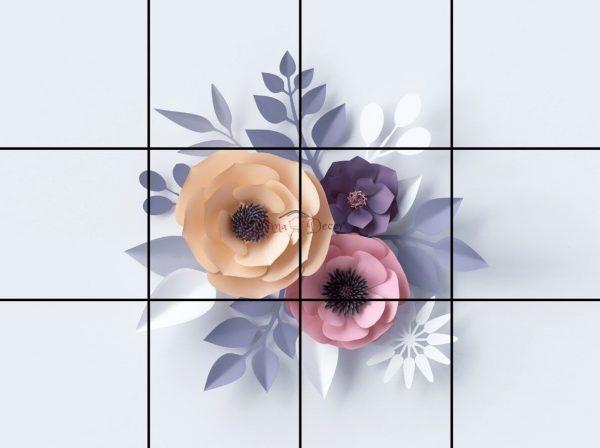 پنل آسمان مجازی طرح گل