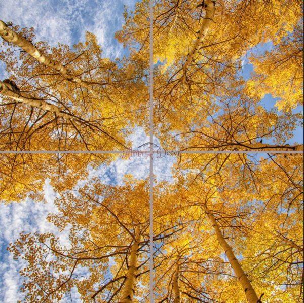 پنل آسمان مجازی طرح فصل پاییز