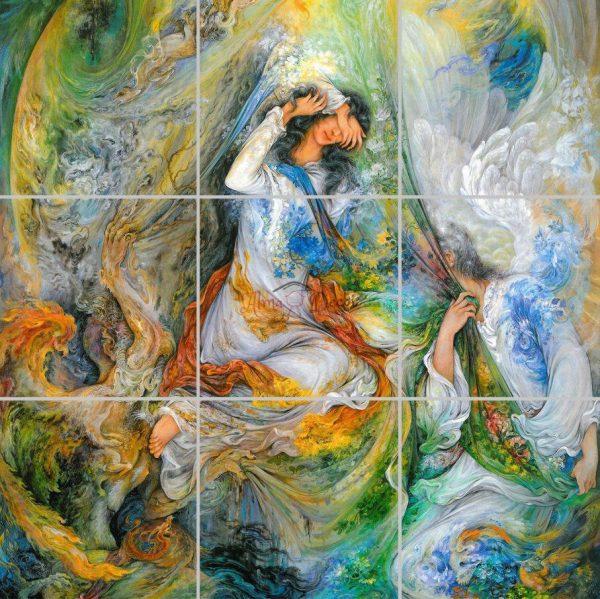 پنل آسمان مجازی طرح ایرانی
