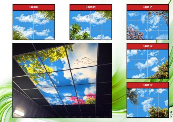 پنل آسمان مجازی طرح برگ