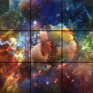پنل آسمان مجازی طرح کهکشان